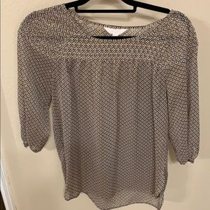 LC Lauren Conrad Sheet Top